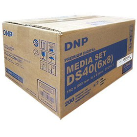 Бумага DNP DS40 Media Set (6x8) 152x203 mm
